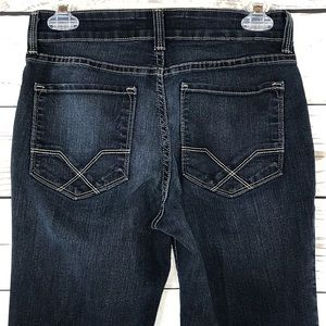 NYDJ Jeans Low-Rise Bootcut Stretch Faded 5-Pocket